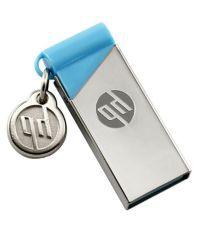 HP hp v215b 8GB USB 2.0 Utility Pendrive Silver & Blue