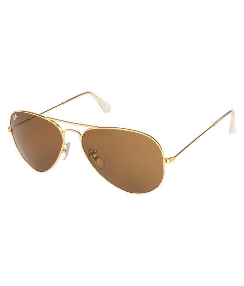 c789667fa78e Ray-Ban Brown Aviator Sunglasses ( RB3025 L9797 ) - Buy Ray-Ban Brown  Aviator Sunglasses ( RB3025 L9797 ) Online at Low Price - Snapdeal