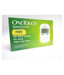 ONETOUCH® SelectSimple™, a blood glucose monitor with new features and benefits that make tracking your blood sugar easier and faster.