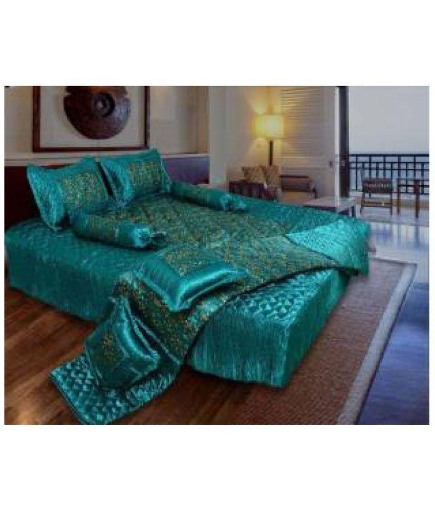BD Double Silk Bedding Set