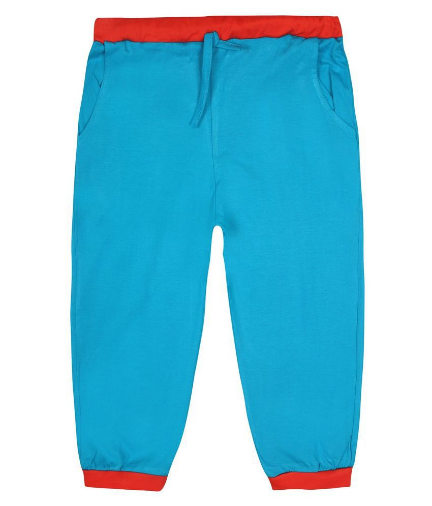 Jazzup Blue Cotton Blend Bermudas