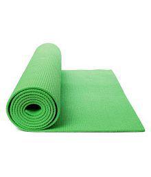 Expedite 4 mm Green Anti- Skid Yoga Exercise Mat