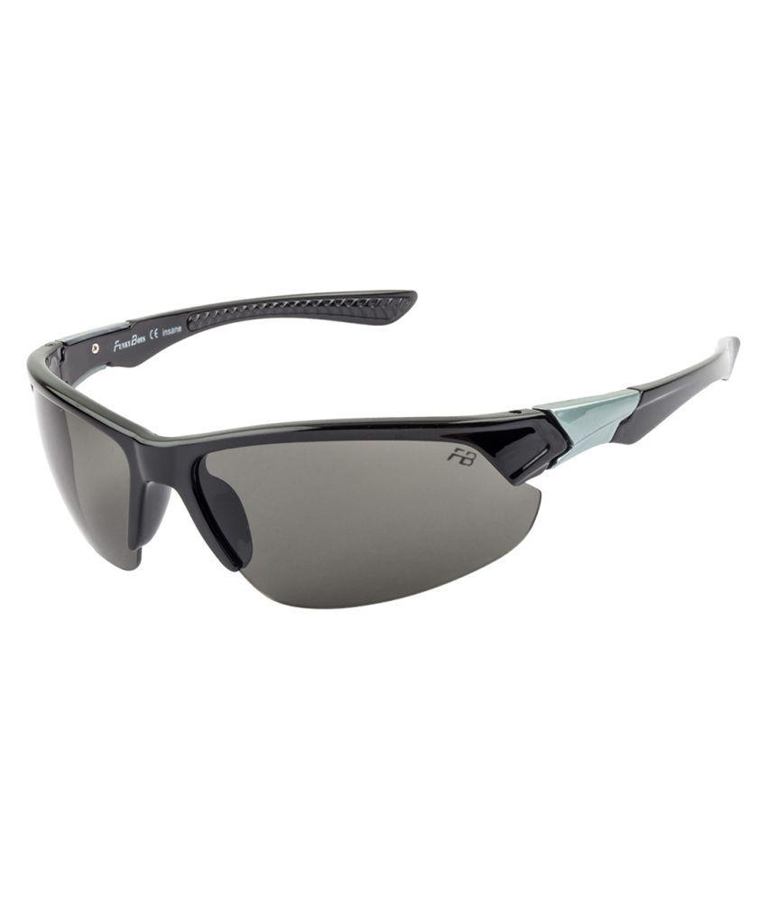 Funky Boys Grey Wrap Around Sunglasses ( FB-4107-C1 )