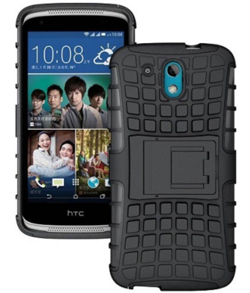 the latest 7eab2 6b19b HTC Desire 526 Case With Stand by Chemforce - Black