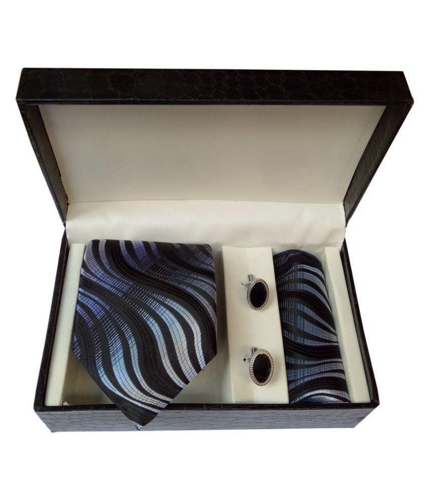 Classyworld Black Casual Necktie