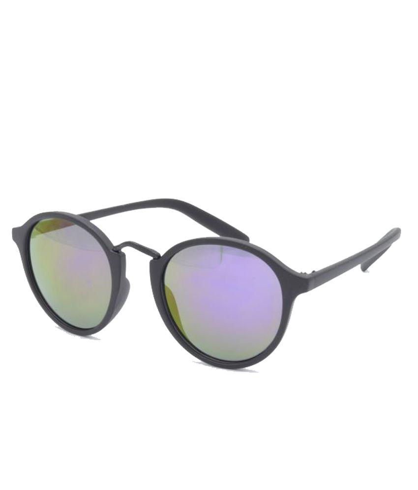Hrinkar Multicolor Round Sunglasses ( HRS409_1 )