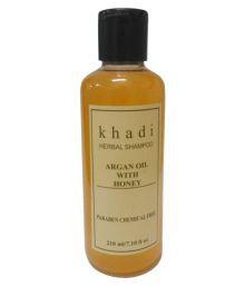 Khadi Argan Oil With Honey Shampoo ( Paraben Free ) 210 Ml