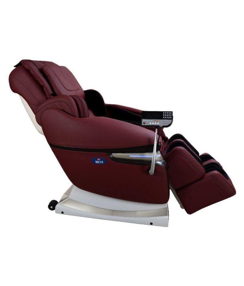 body massage chair. JSB MZ15 Powerful 3D Full Body Massage Chair (Red)