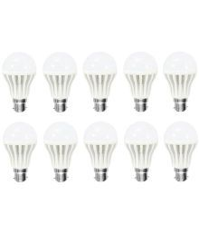 Gi-Shop 15W White LED Bulb - Pack Of 10