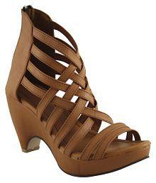 Cute Fashion Brown Heels