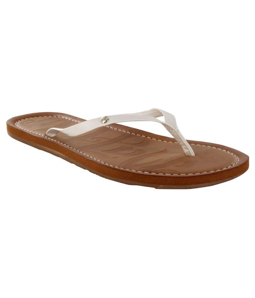 Madlove White Slippers