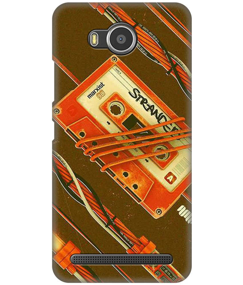 Lenovo A7700 Printed Cover By ZAPCASE