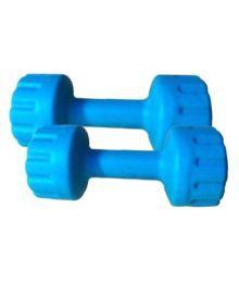 Total Gym 2 6-10 Kg Blue Plastic Dumbbell