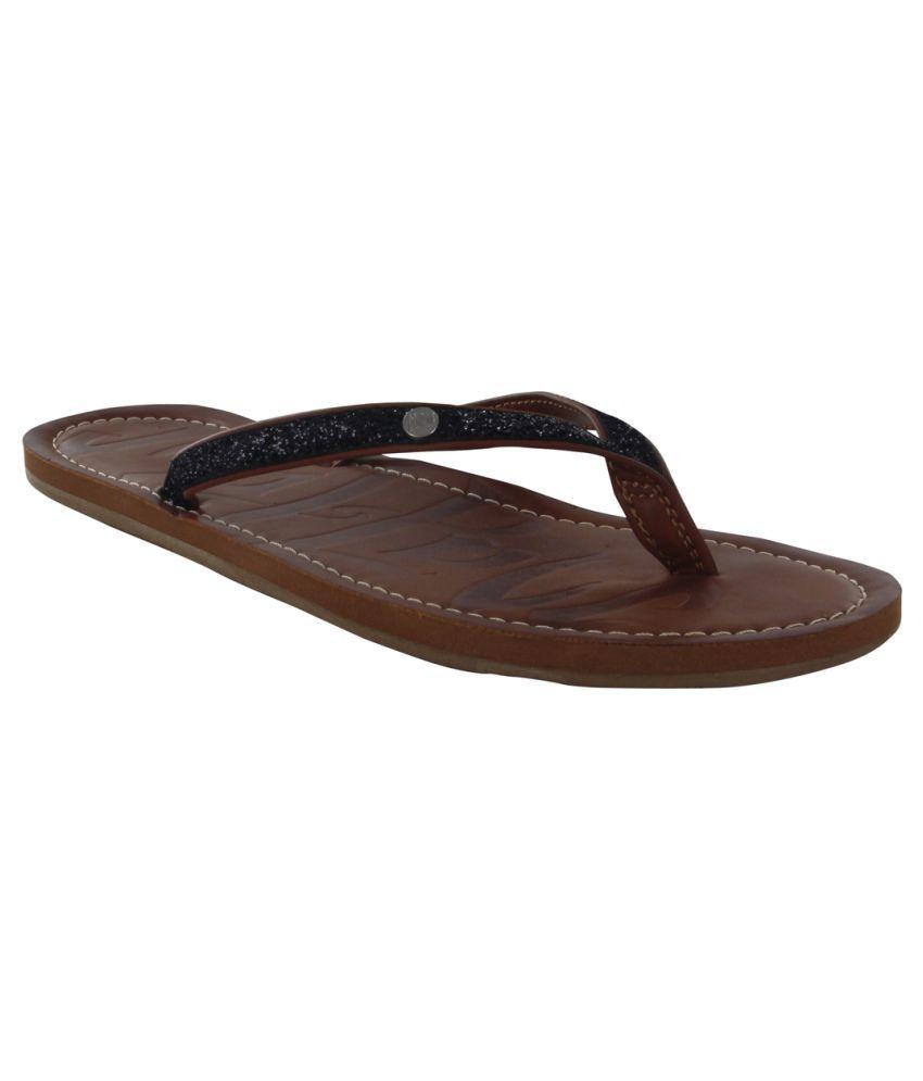 Madlove Black Slippers
