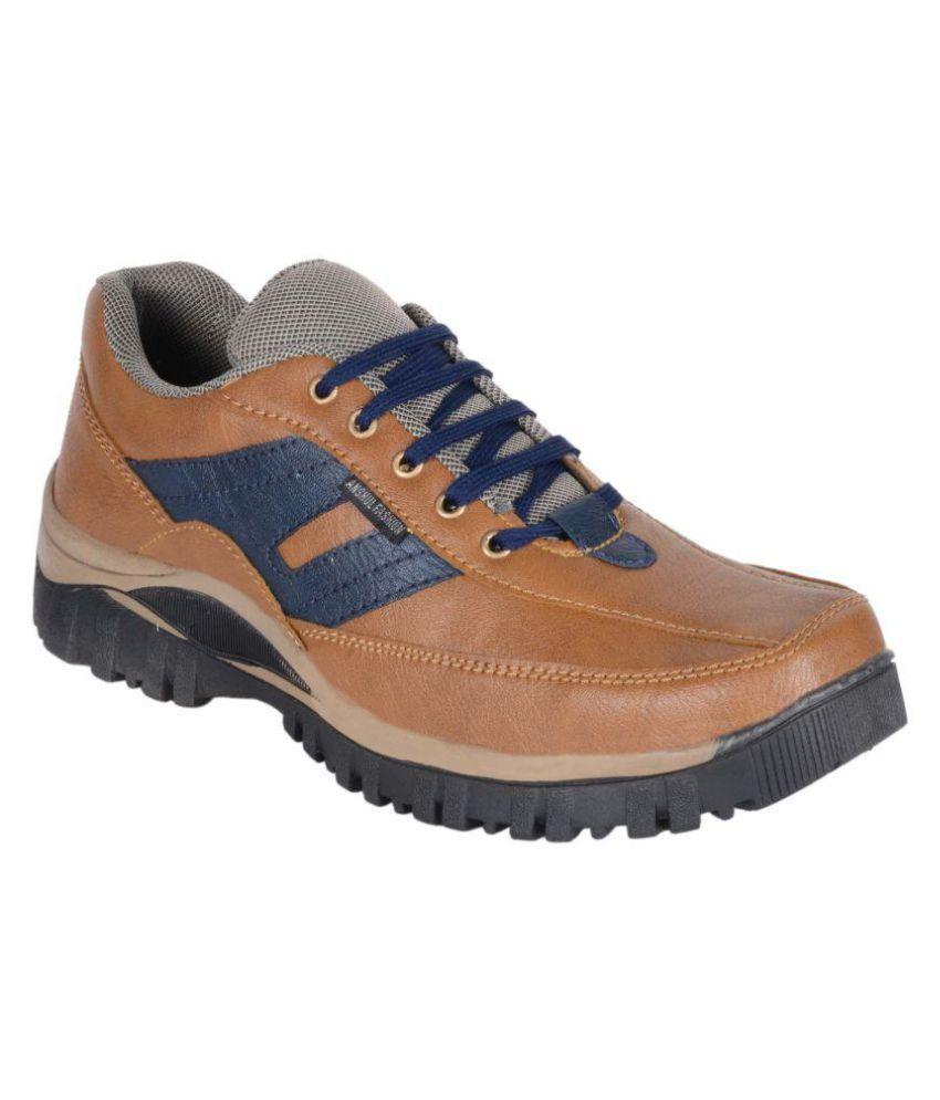 Anshul Fashion Tan Casual Boot