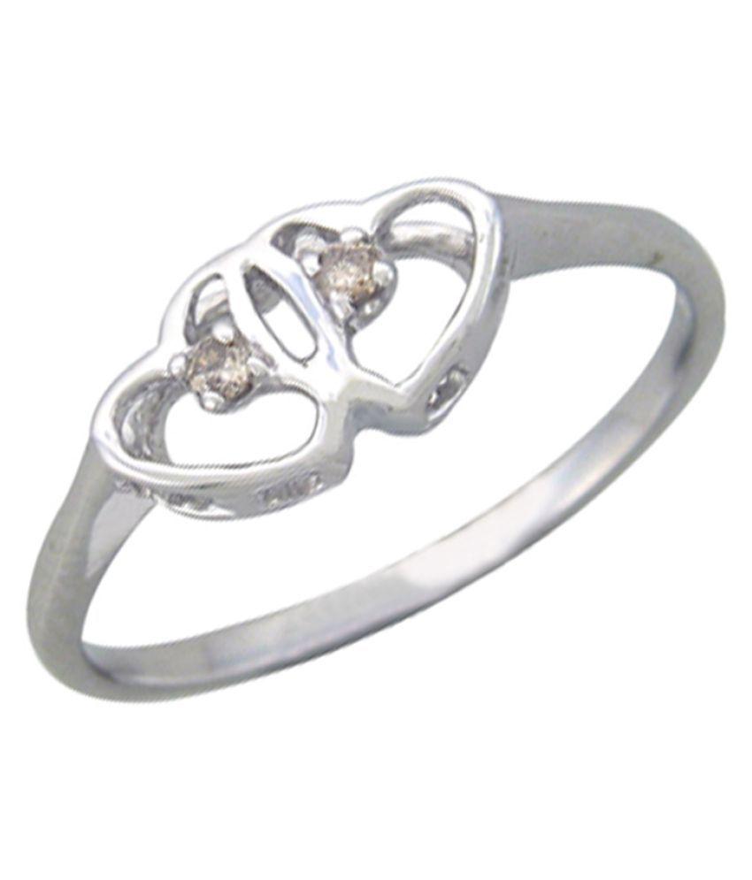 Sparkles 18K Yellow Gold Diamond Ring