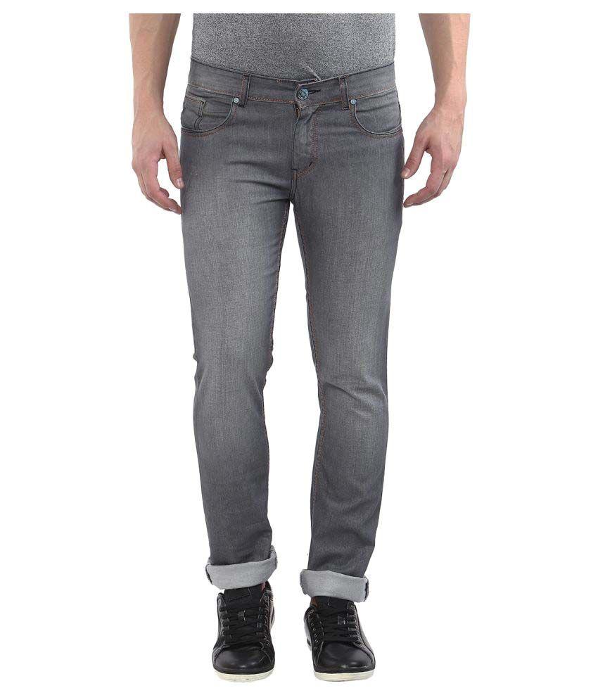 11cent Grey Slim Solid