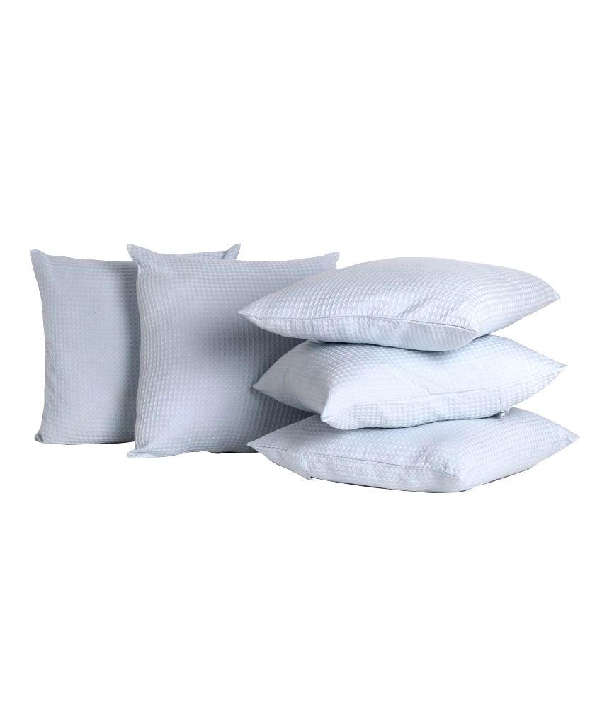 Rosara Set of 5 Cotton Cushion Covers