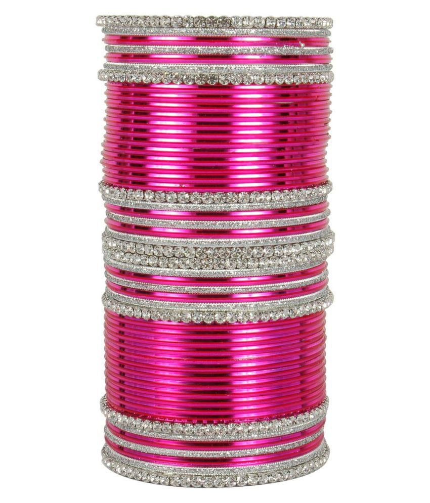 Much More Party Wear Collection Beautiful Bangle Set