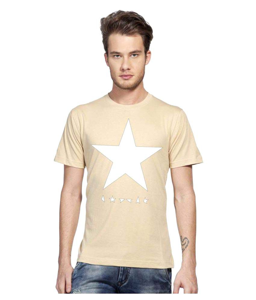Clifton Beige Round T-Shirt