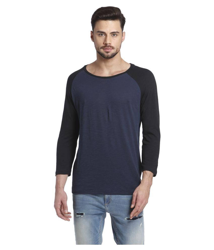 Jack & Jones Blue Round T-Shirt