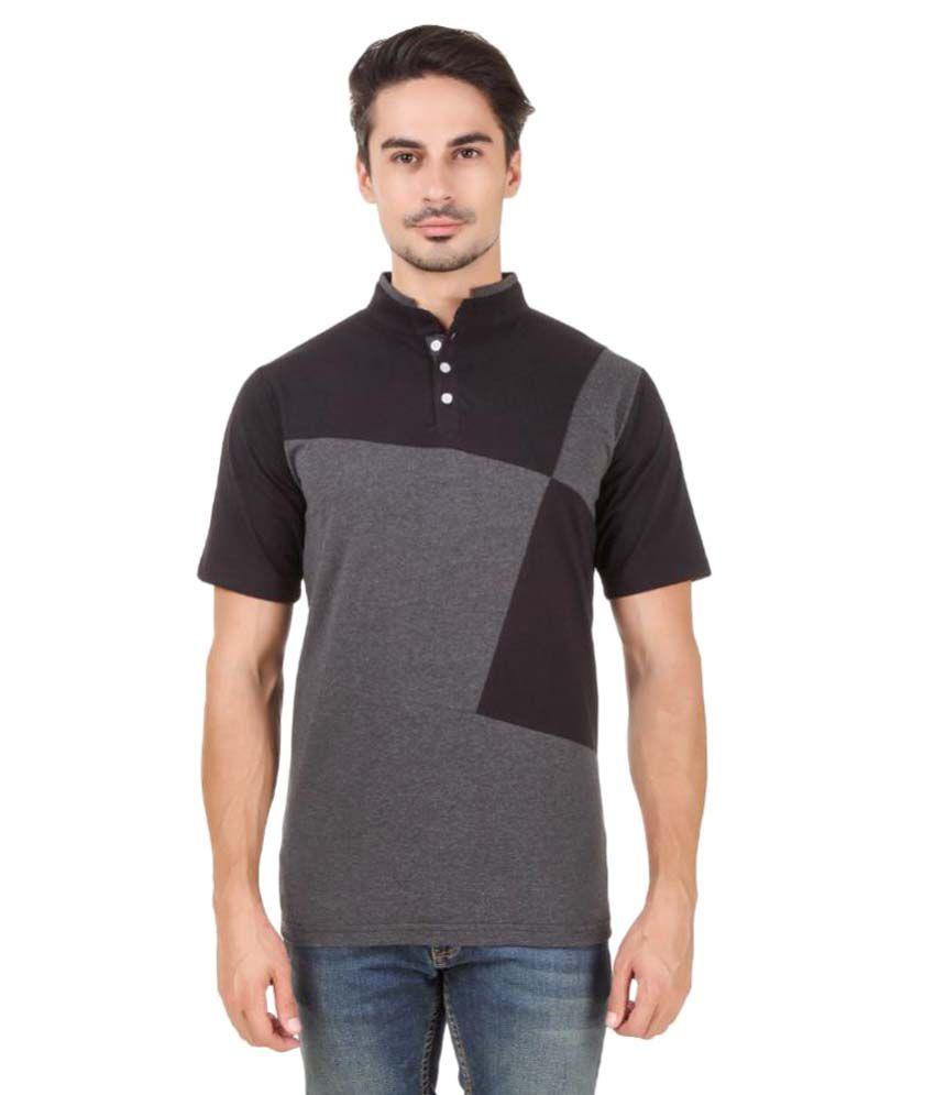 Aurelio Marco Multi High Neck T-Shirt