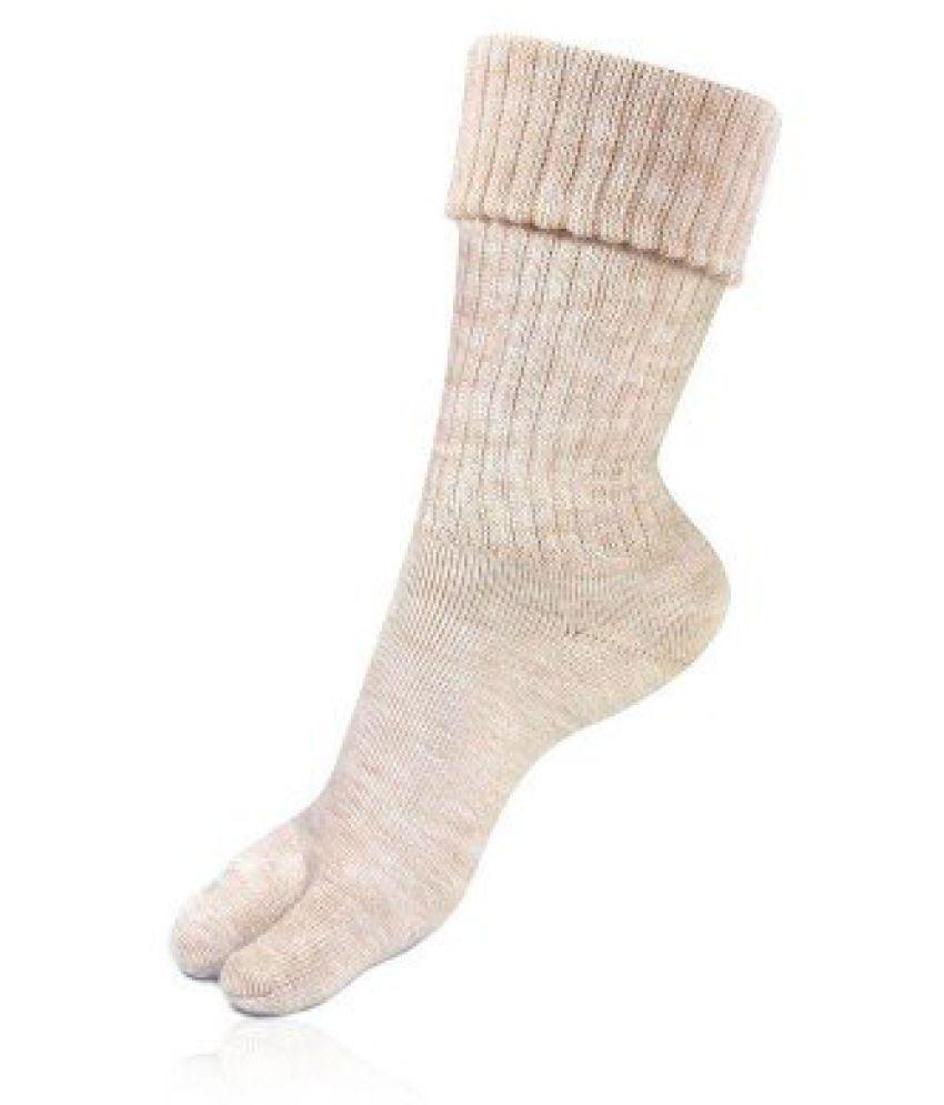 Bonjour Womens Mid Length Woolen Socks