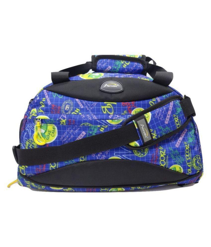 Aerollit Blue Gym Bag