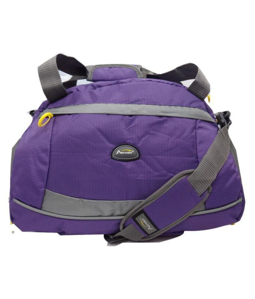 Aerollit Purple Gym Bag