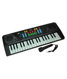 99dotcom 37 Keys Musical Electronic Keyboard Organ With Mic Melody Mixing