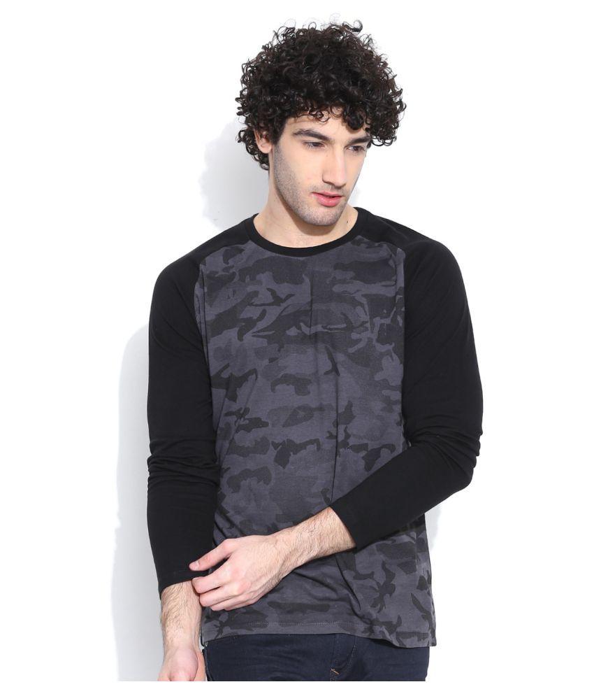 Cult Fiction Black Round T-Shirt