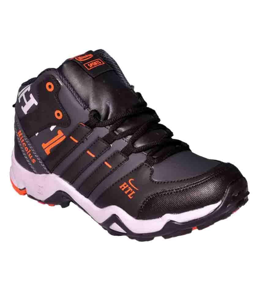 Hitcolus Black Running Shoes - Buy