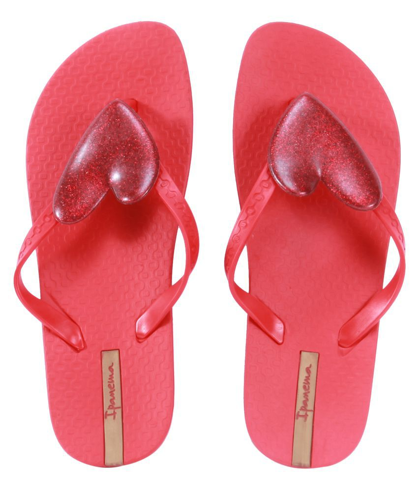 Ipanema Red Slippers