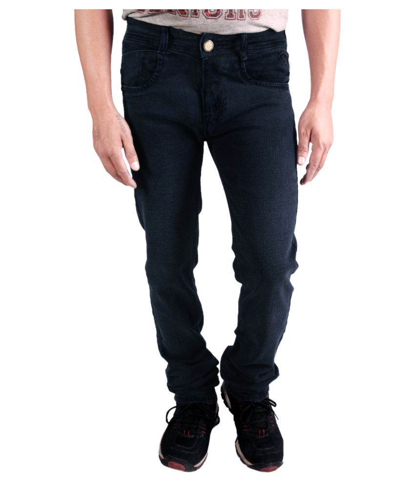 Natron Dark Blue Straight Washed