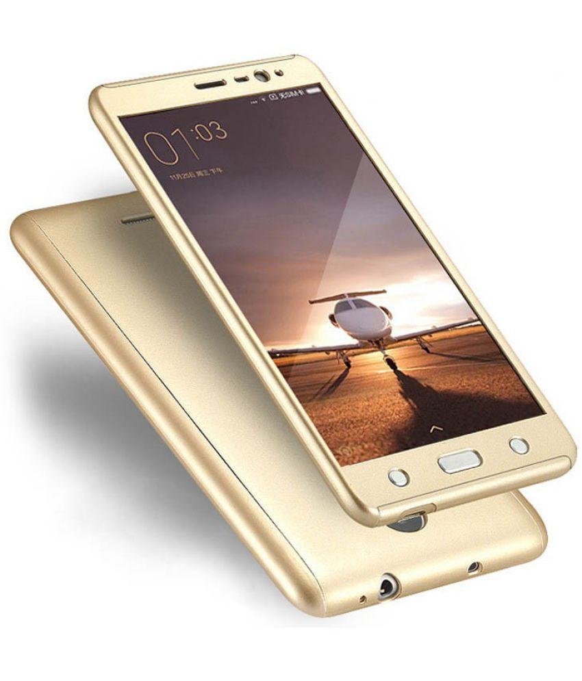 Xiaomi Redmi Note 3 Cover by Galaxy Plus - Golden