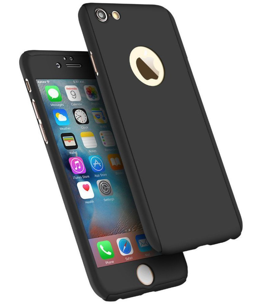 Apple iPhone 6 Plus Cover by Galaxy Plus - Black