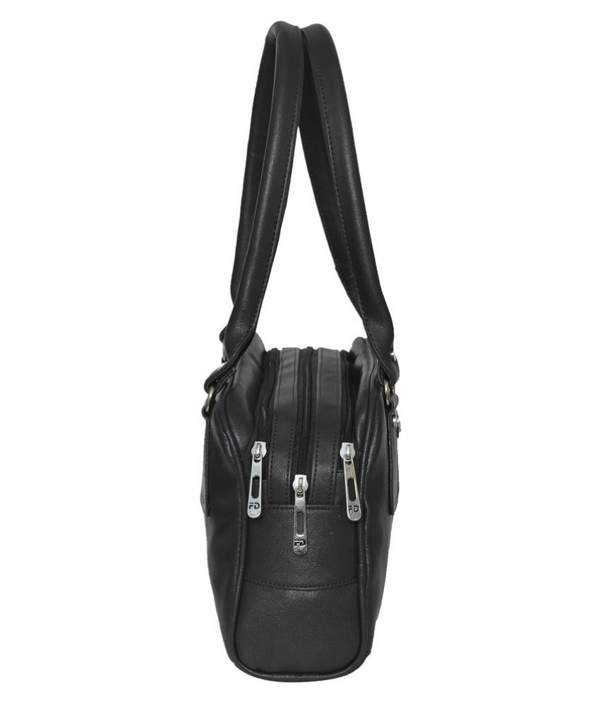 532940f564 JH Hand Bag Black P.U. Handheld - Buy JH Hand Bag Black P.U. ...