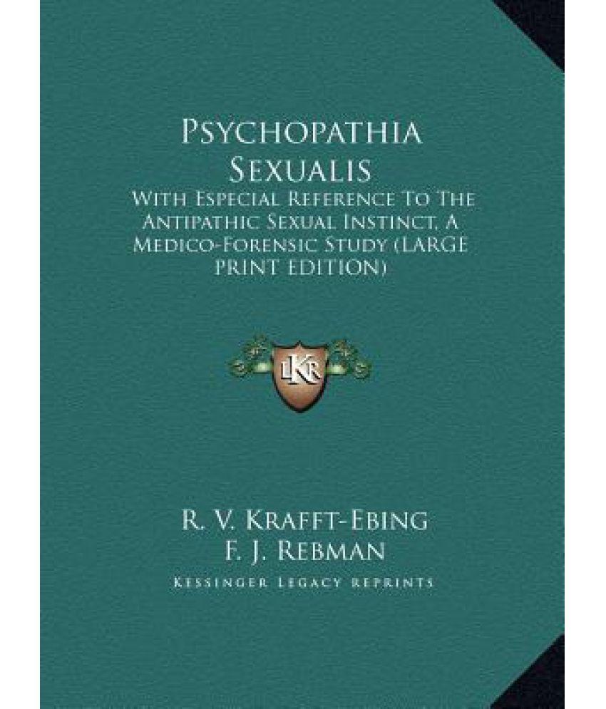 Psychopathia sexualis summary