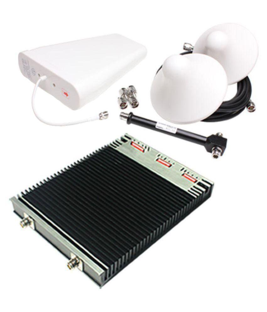 Lintratek HPC-GDW27 900-1800-2100Mhz Tri Band Repeater 3200 RJ11 Black