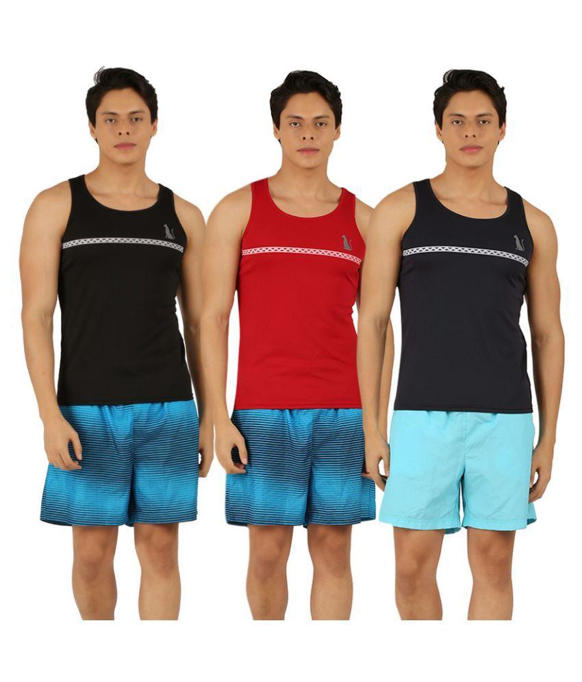 Leopardskyn Multicolor Innerwear - Pack of 3