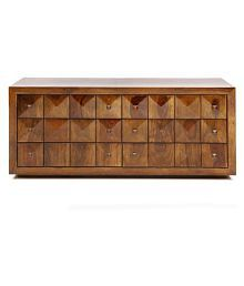 Evok Diamond Solid Wood Chest Of Drawers