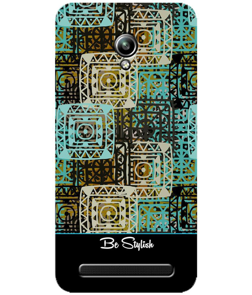 Asus Zenfone Go Printed Cover By SWAGMYCASE