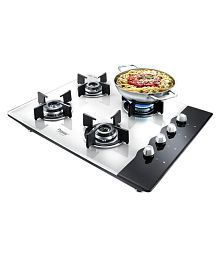 Prestige PHTS 04 4 Burner Glass Manual Hobtop