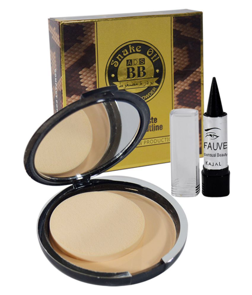 ADS Good Choice Free Kajal With Pressed Powder Beige 25 gm