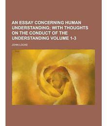 an essay concerning human understanding read online