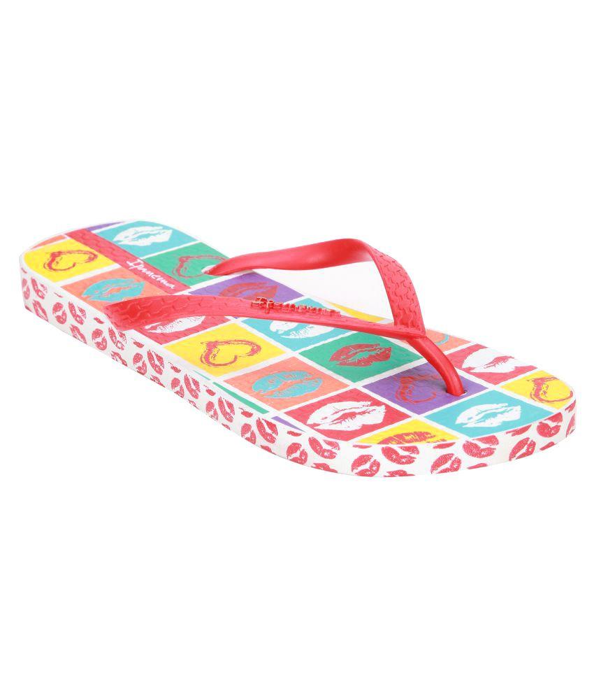 Ipanema Red Slippers
