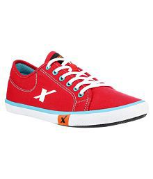 Sparx Sneakers Red Casual Shoes