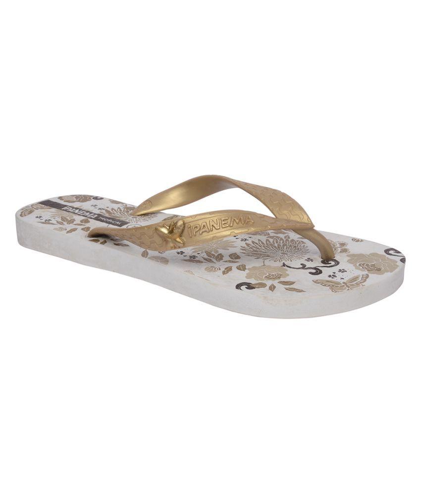 Ipanema Gold Slippers
