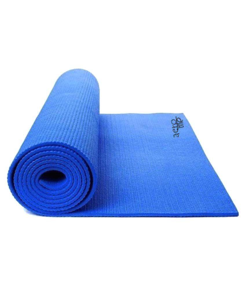 Aerolite Premium Roll Easy Blue 4mm Yoga Mat