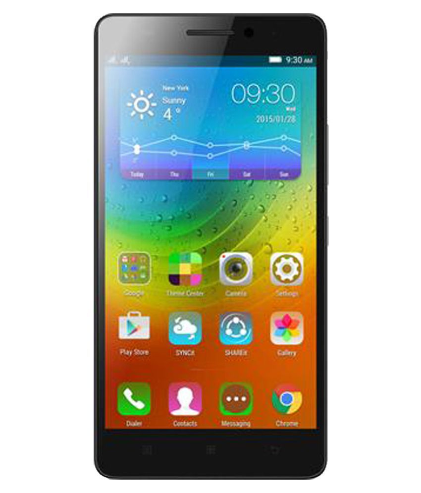 REFURBISHED Lenovo K3 Note Music 16  GB Black available at SnapDeal for Rs.8650